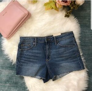 NEW High Rise Shortie Shorts